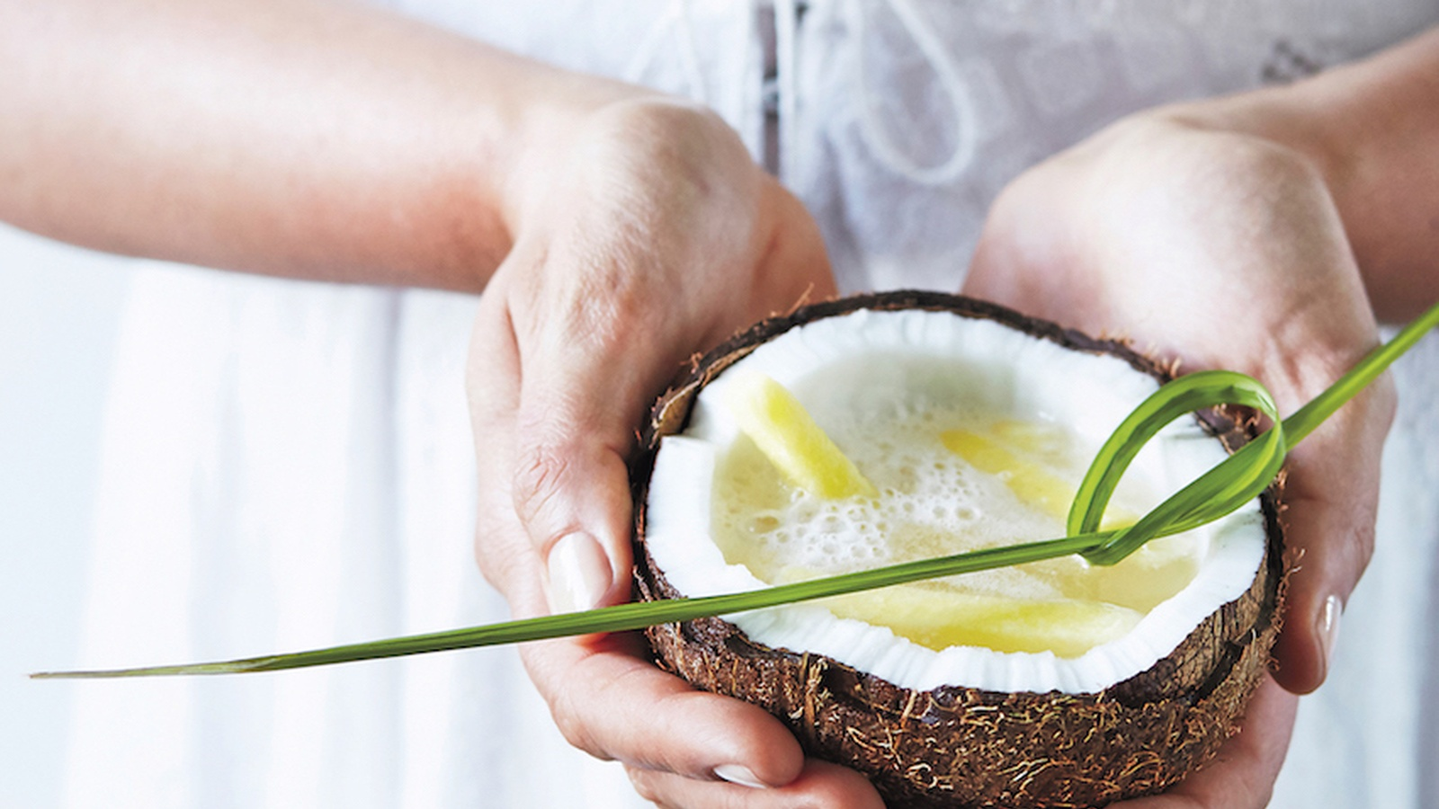 Gut-Loving Probiotic Pina Colada Coconut Water Kefir