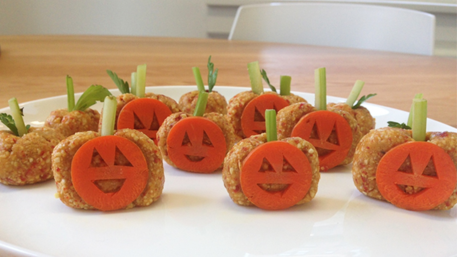 Horrifyingly Healthy Raw Pumpkin Patch Recipe