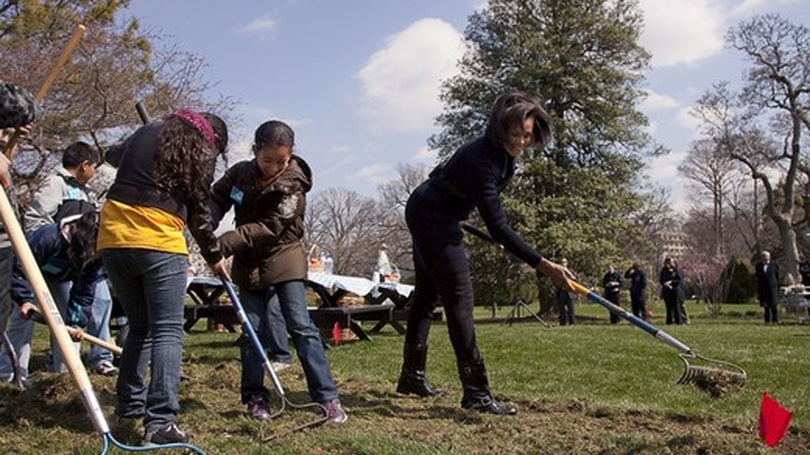 Even the President is going Organic!