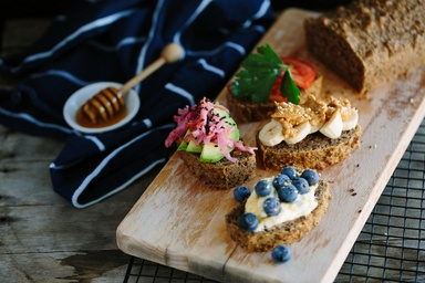 Healthy recipes nutritious delicious ideas food matters our favorite toast toppers with the food matters breakfast bread forumfinder Gallery