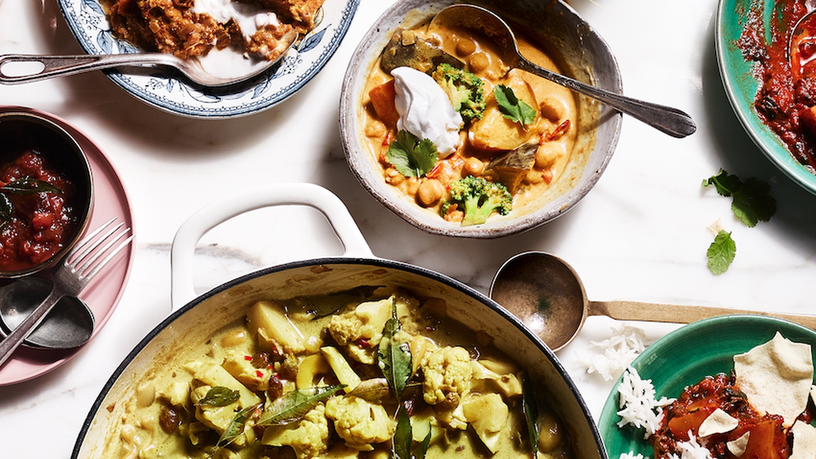 Cauliflower, Cashew and Coconut Curry