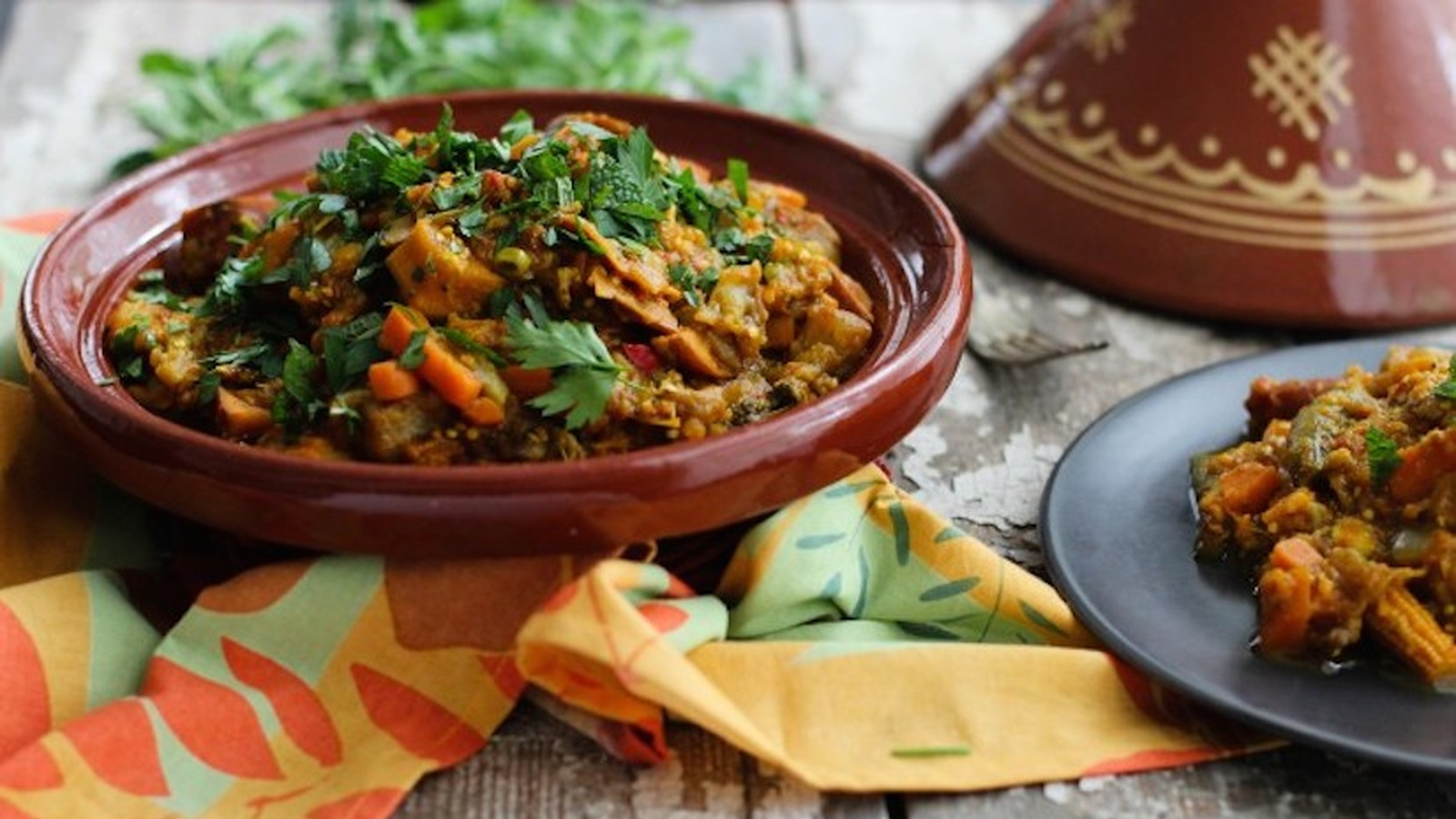 Garden Vegetable Tagine (Recipe)