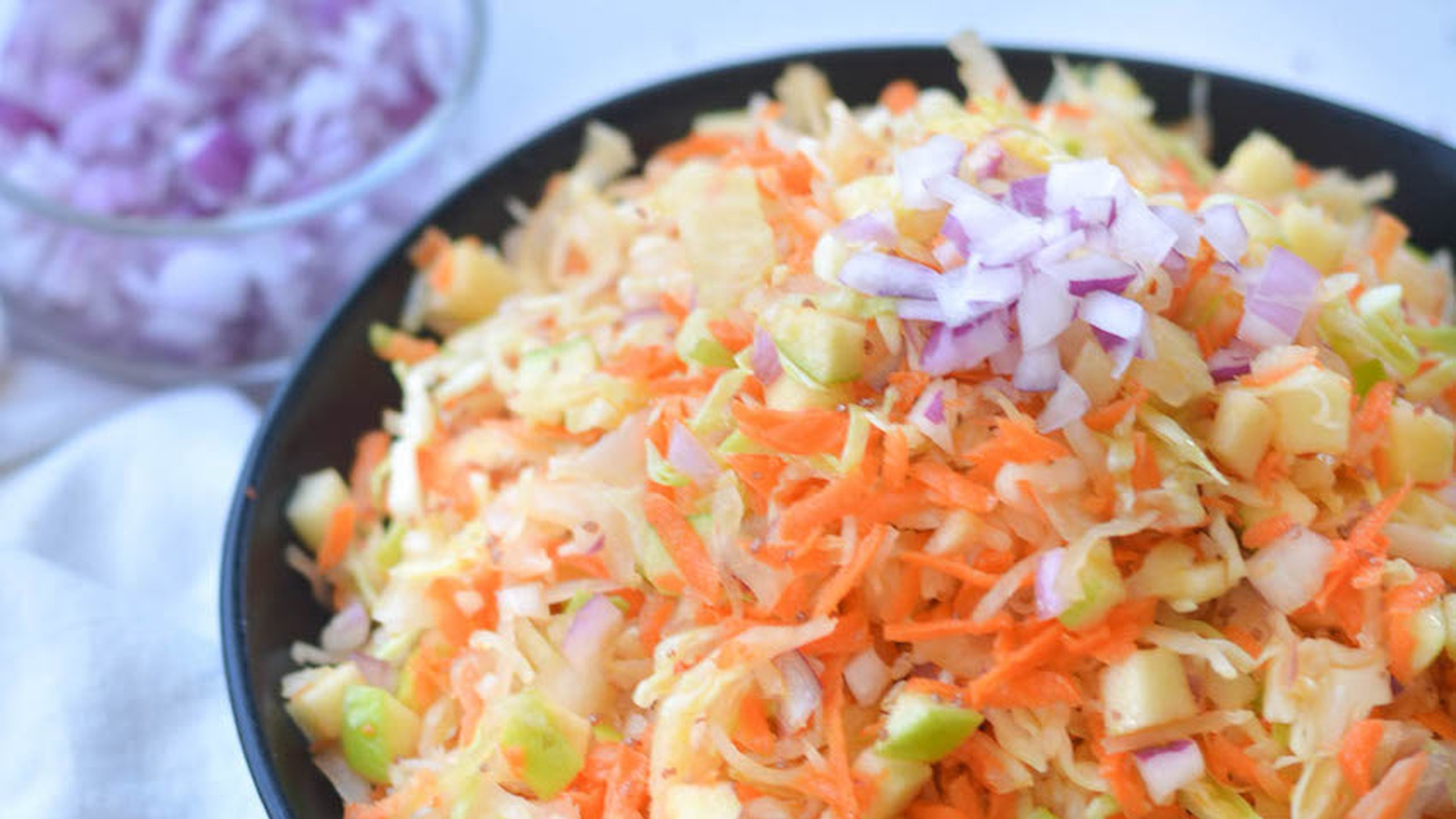 The Best Sauerkraut Salad Food Matters
