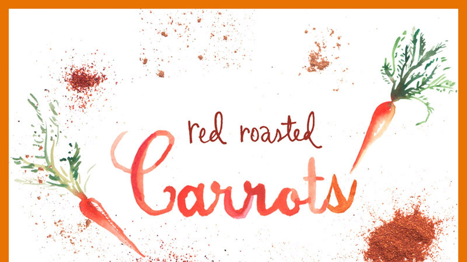 Red Roasted Carrots (Recipe)