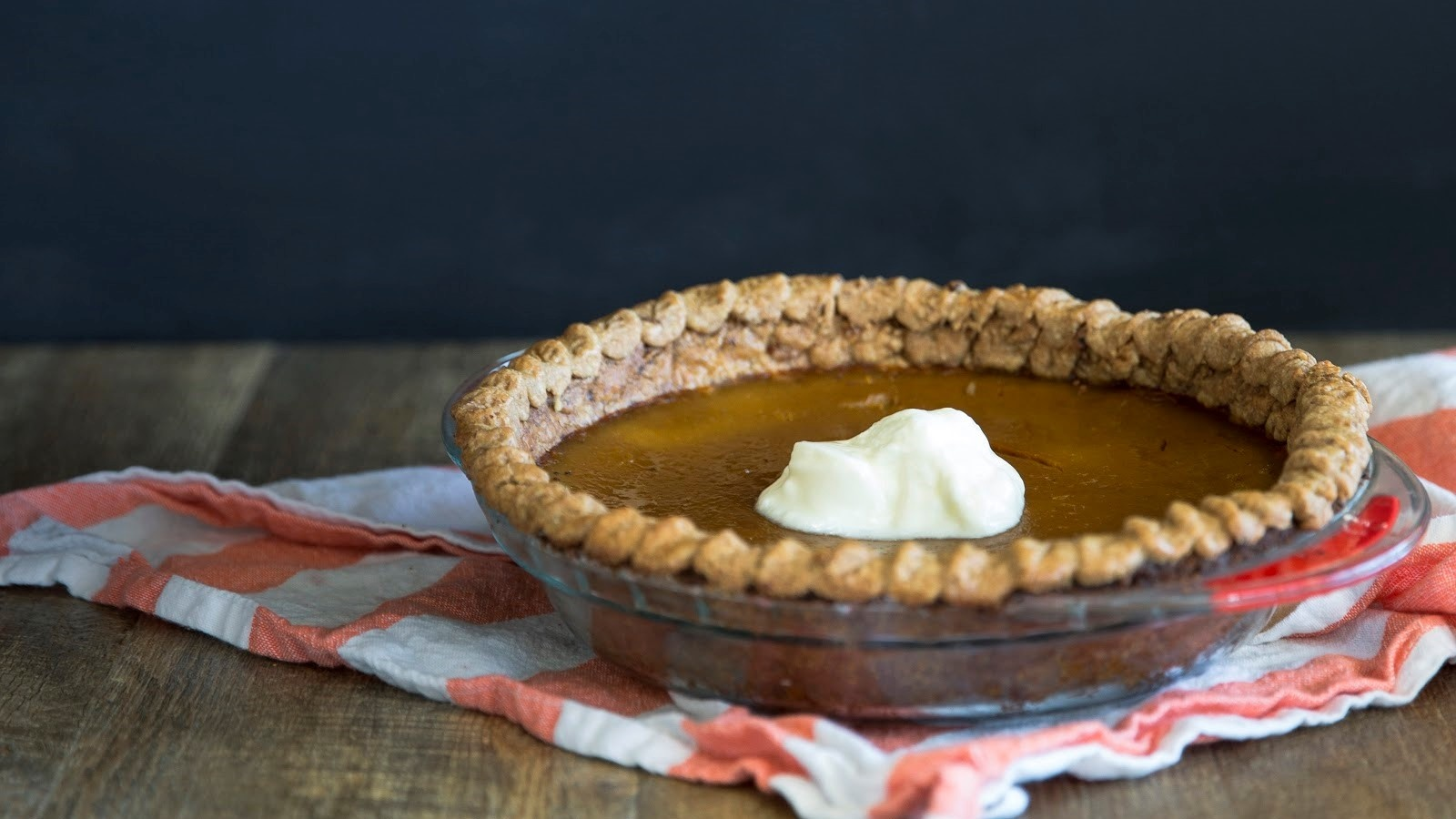 Pumpkin Pie with Homemade Gluten-Free Pastry