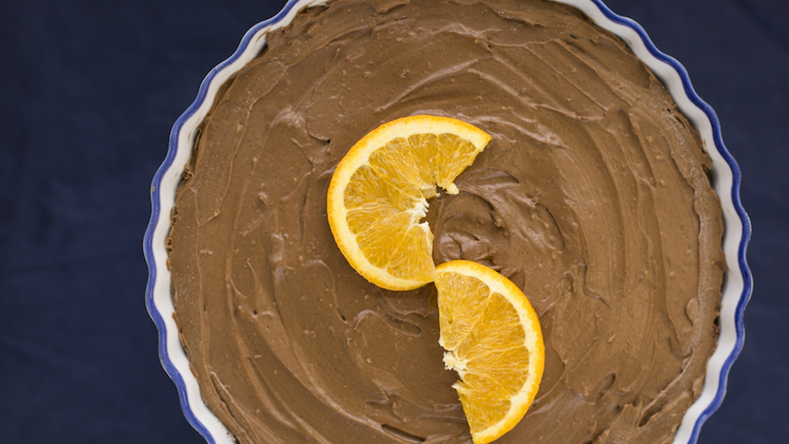 No-Bake Chocolate Orange Tart (Dairy, Nut & Gluten Free)