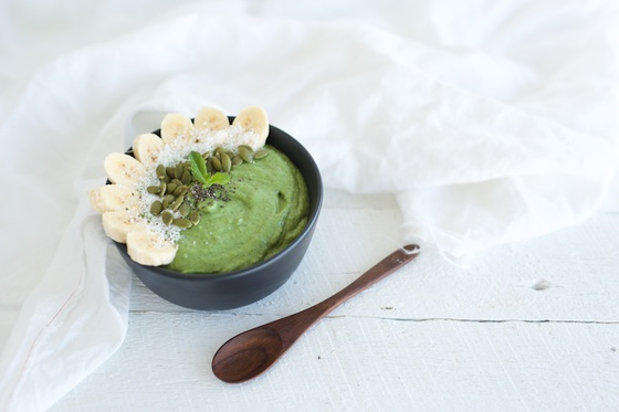 Simple banana bread recipe food matters green goddess bowl with superfood greens forumfinder Gallery