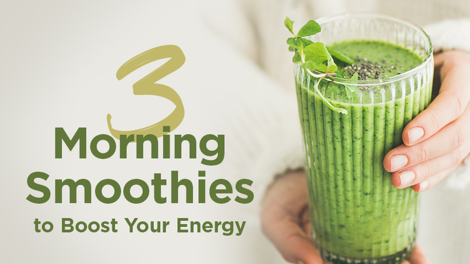 morning smoothie recipes