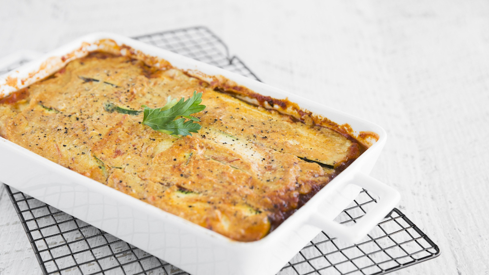 Zucchini Lasagne With Cashew Cheese Even Meat-Lovers Will Love (Dairy-Free, Gluten-Free Recipe)
