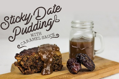 Healthy recipes nutritious delicious ideas food matters sticky date pudding with caramel sauce gluten free forumfinder Choice Image