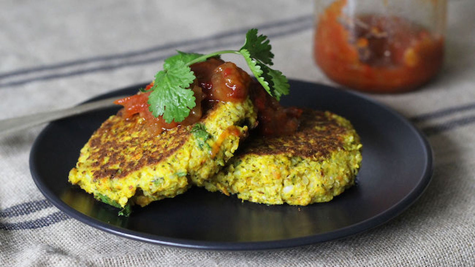 Mashed Vegetable and Quinoa Fritters