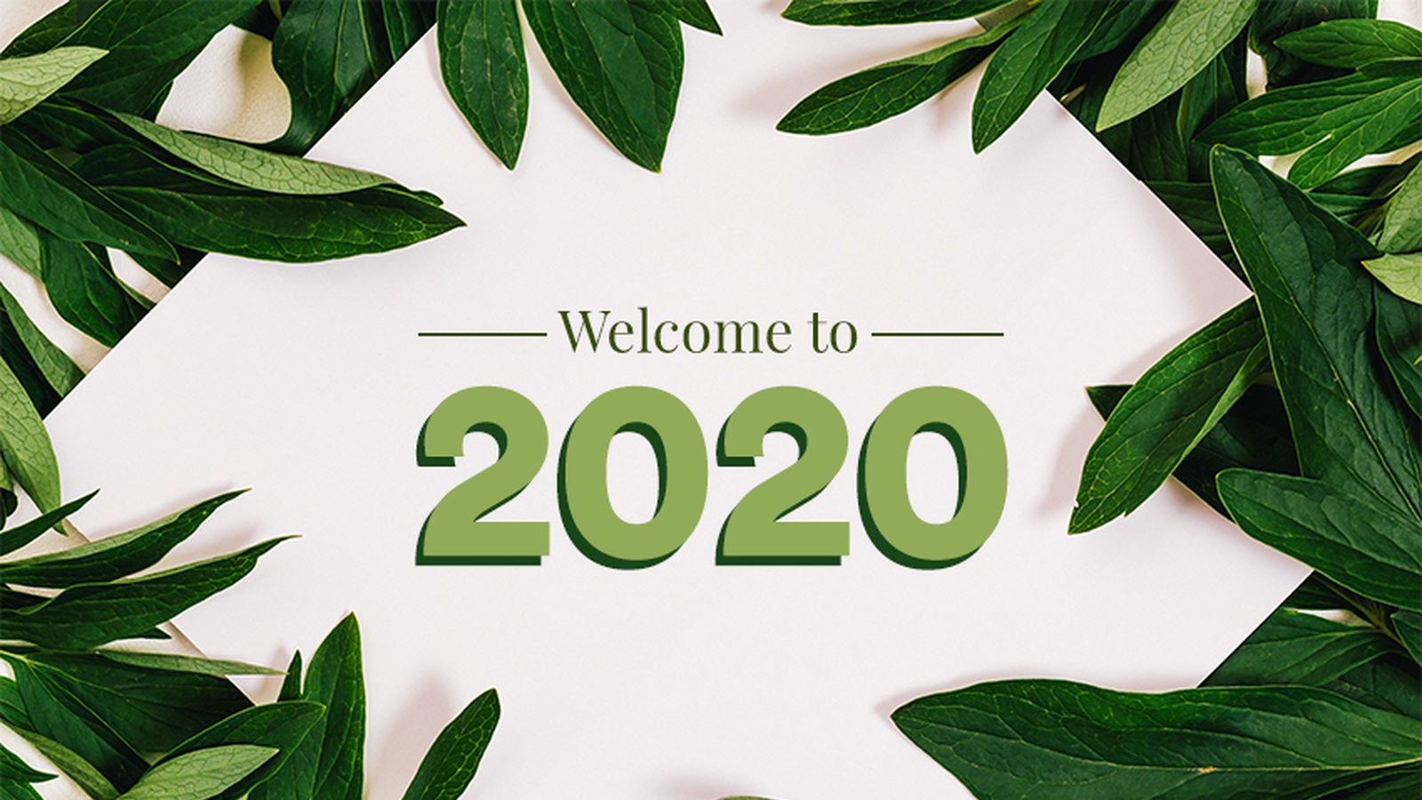 Let's Do This! (2020 Welcome Video from James)