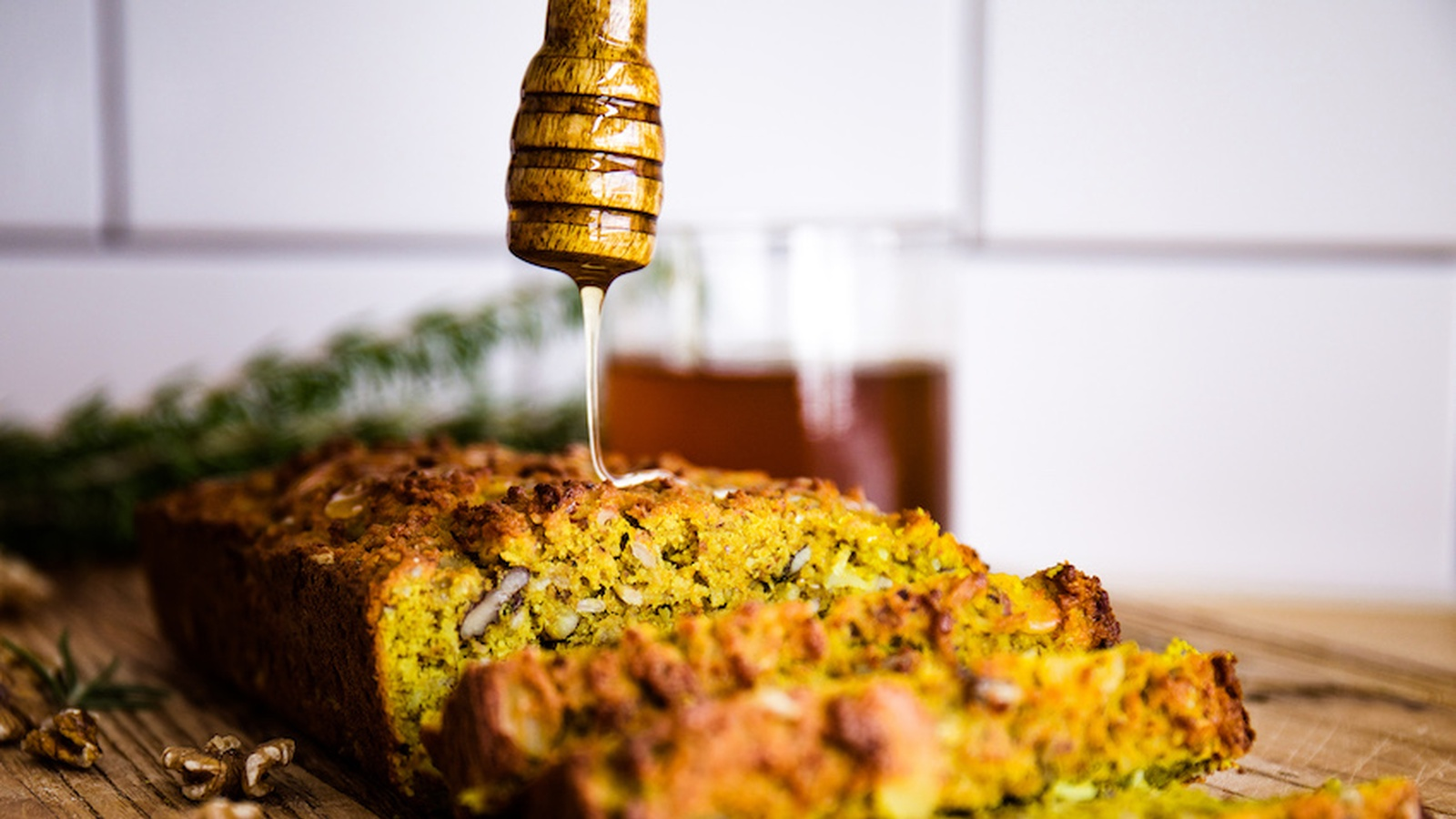Gluten-Free Turmeric Seeded Loaf