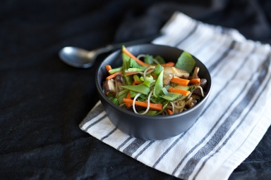 Healthy recipes nutritious delicious ideas food matters ginger miso soba noodle abundance bowl forumfinder Choice Image