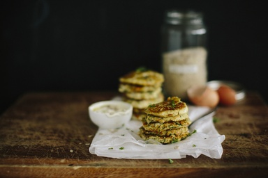 Healthy recipes nutritious delicious ideas food matters gluten free zucchini feta fritters forumfinder Images