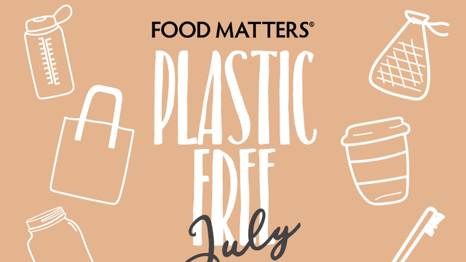 Join Us For Plastic Free July