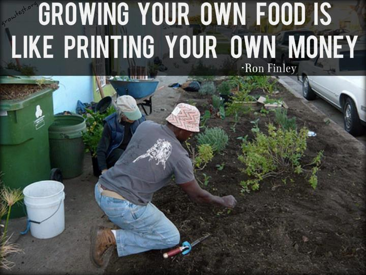 Growing Your Own Food is Like Printing Your Own Money (Video)
