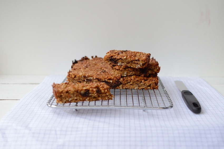 Sweet Potato Muesli Bar