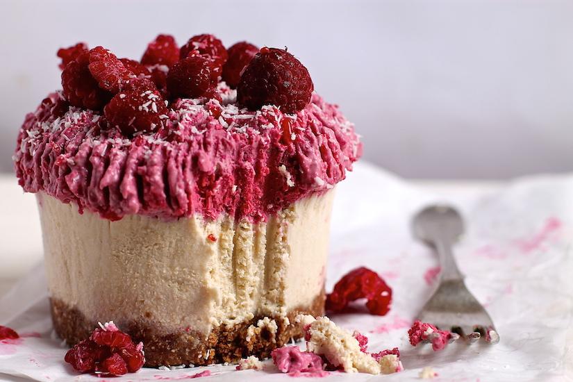Raspberry And White Chocolate Cheesecake Valentine S Day Recipe