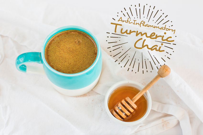 Anti-Inflammatory Turmeric Chai With Homemade Cashew Milk