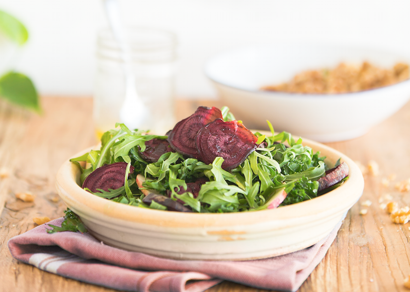 Apple, Walnut & Roasted Beet Salad