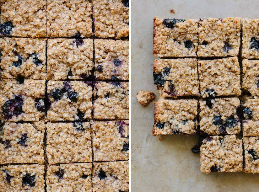 Blueberry, Lemon & Quinoa Slice (Recipe)