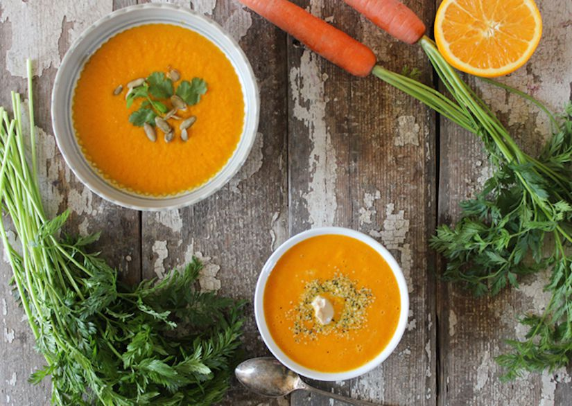 Carrot, Orange & Ginger Soup (Recipe)