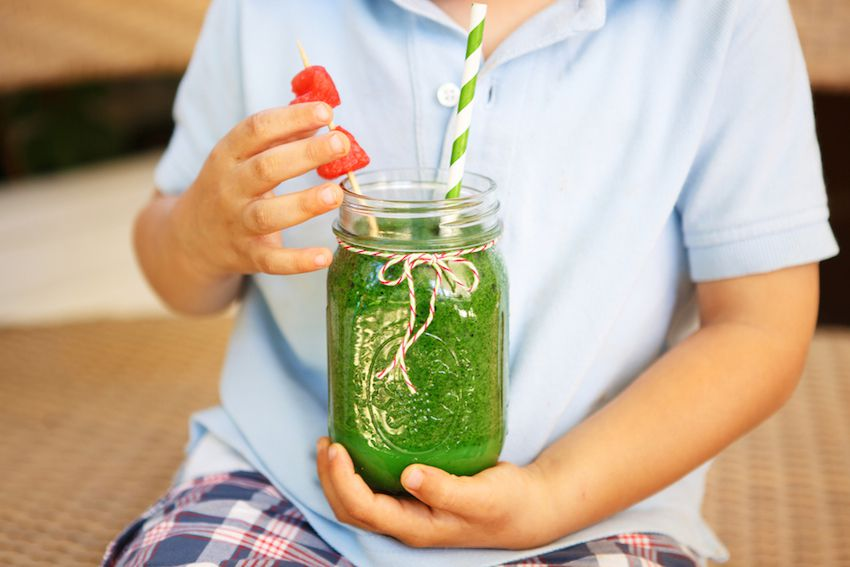 How To Get Your Fussy Child To Drink Green Smoothies