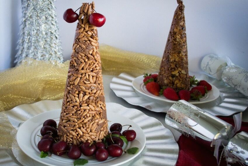 Gluten Free Christmas Crackle Tree