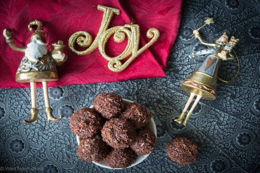 Chocolate Christmas Truffles