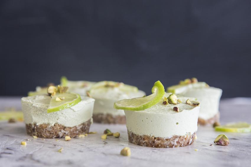 Mini Coconut & Lime 'Cheesecakes'