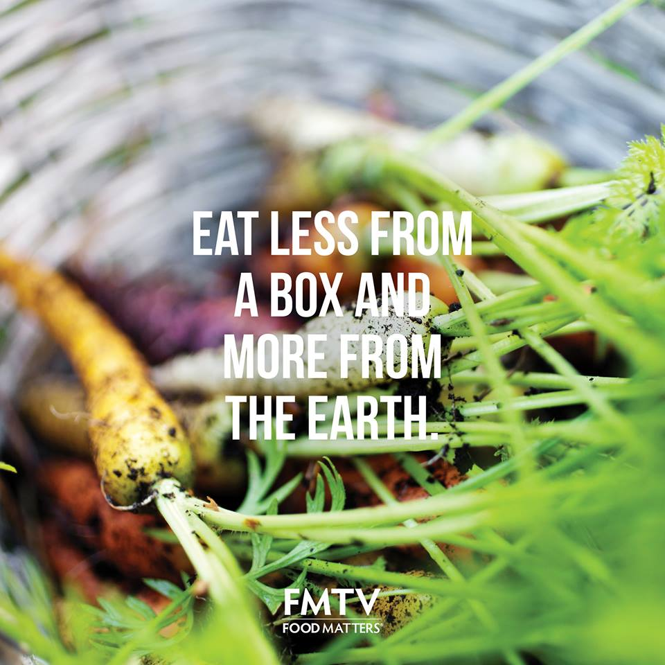 Eat More From The Earth