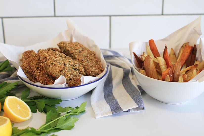 Comfort Food: Healthy Gluten-Free Fish & Chips (Recipe)