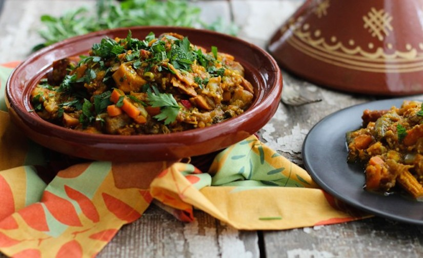 Garden vegetable tagine recipe food matters garden vegetable tagine recipe forumfinder Gallery