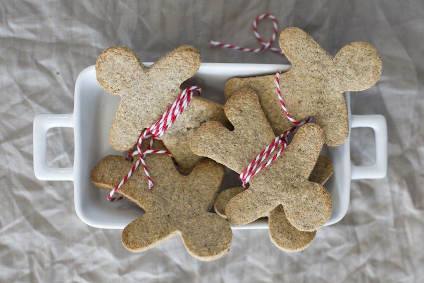 Grain Free Gingerbread Men