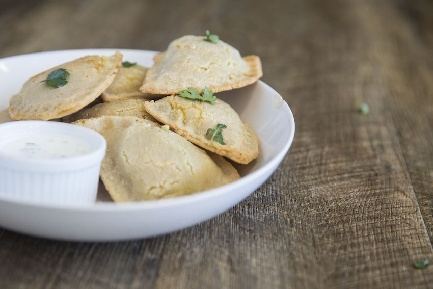 Grain-Free Vegetarian Samosas