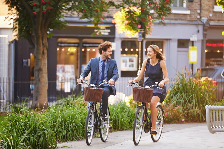 5 Ways To Get Healthy On Your Way To Work!