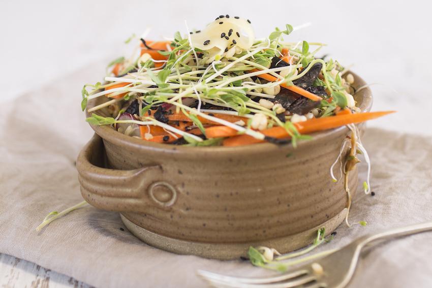 Japanese Brown Rice Salad