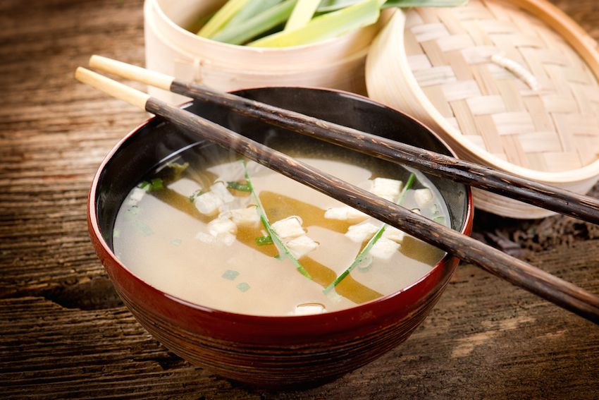 Soothing Vegan Miso Soup