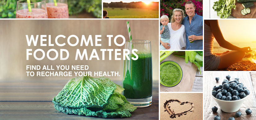 Have You Seen The NEW Food Matters Website?