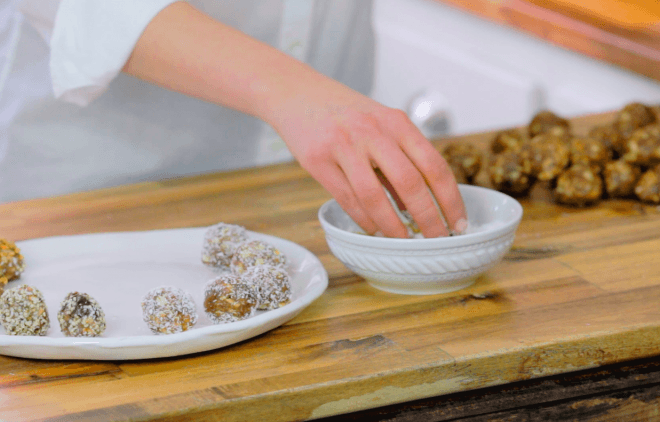 Quick Snacks: Energy Truffles (Video)
