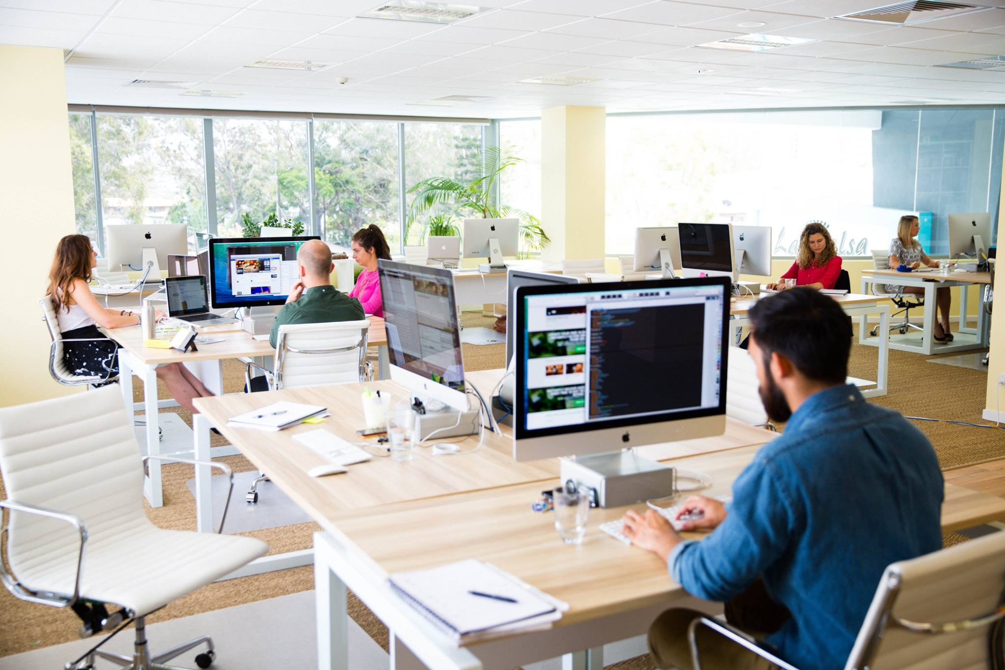 Careers internships food matters for Office working area design