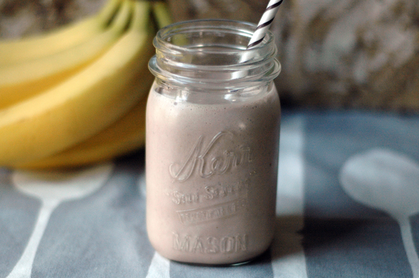 Nut Butter Lover Protein Shake Recipe