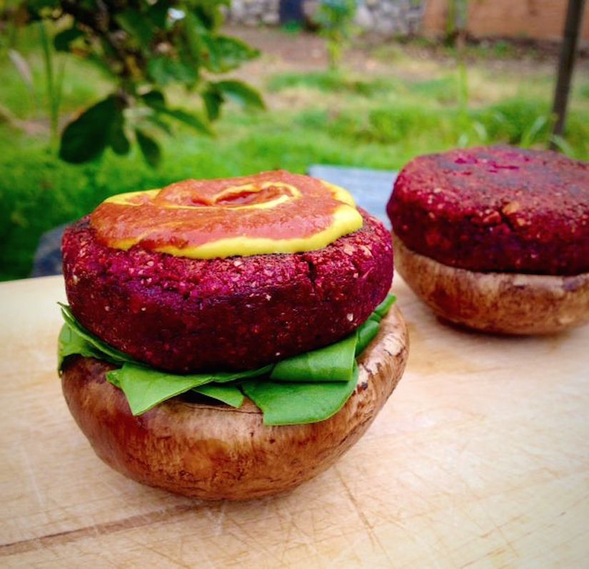 Beet burgers recipe food matters beet burgers recipe forumfinder Image collections