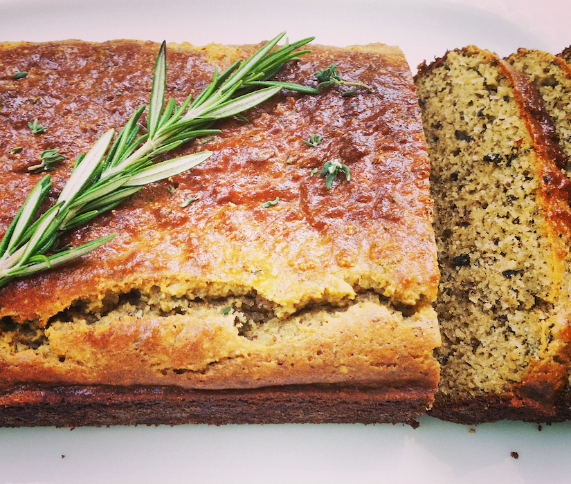 Rosemary and Thyme Loaf (Gluten-Free Recipe)