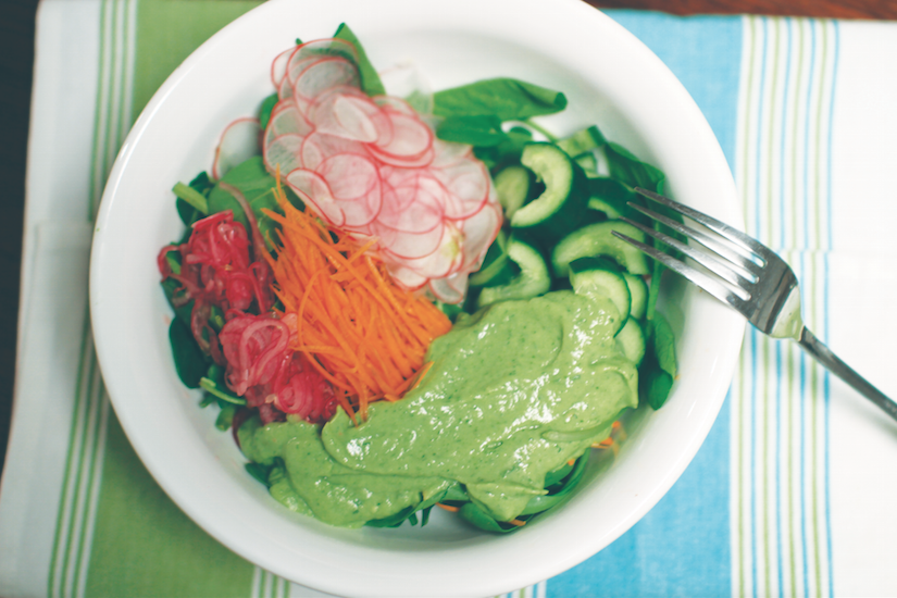 Raw Food That Matters For Your Health And Wellness-Skin Beauty Salad Recipe