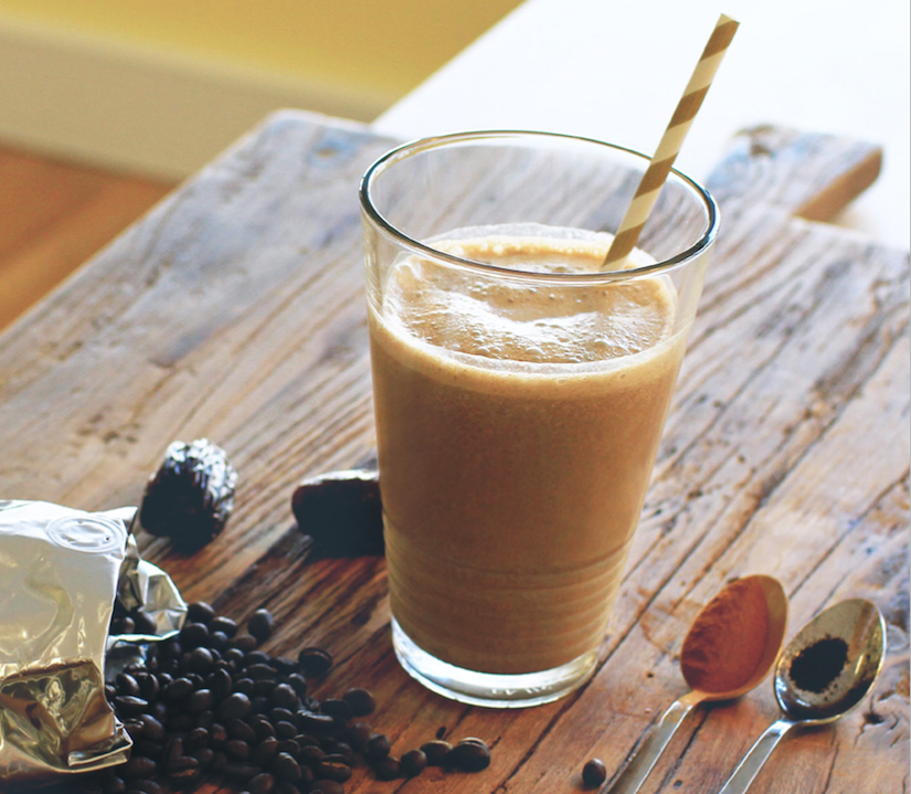 Spiced Coffee Smoothie Recipe