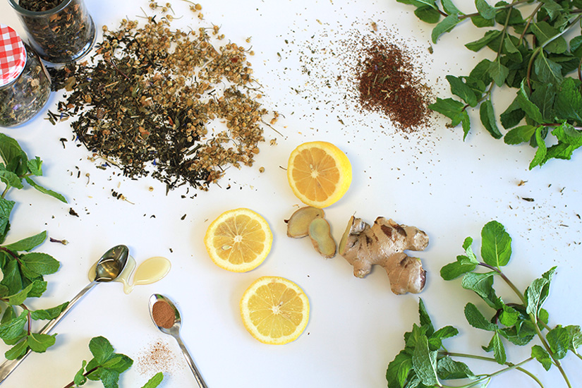 Three Daily Detox Teas (Recipes)