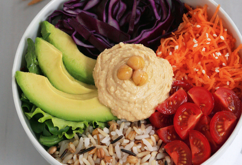 Perfect Weekday Lunch: Veggie Rice Bowl (Recipe)