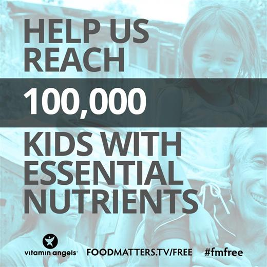 Help Us Reach 100,000 Kids With Essential Nutrients